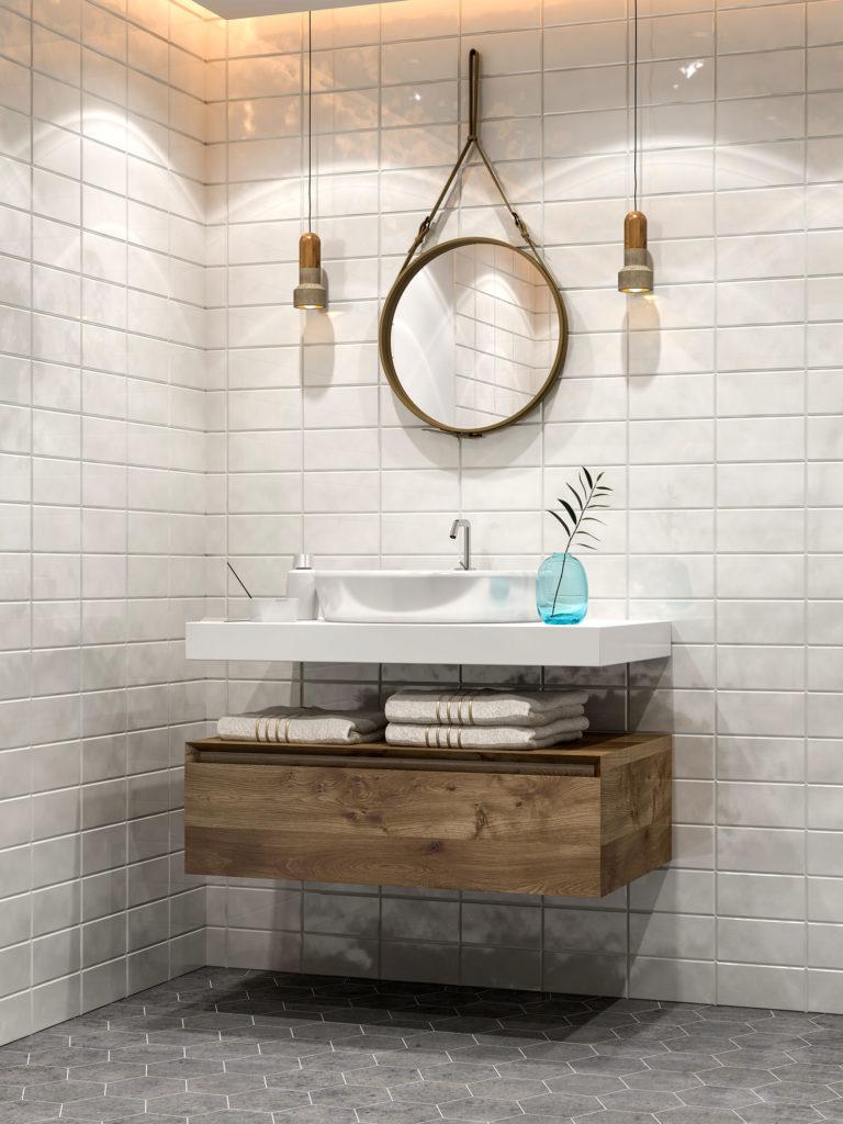 Transitional Modern Bath